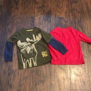 Size 5 Long Sleeve shirts